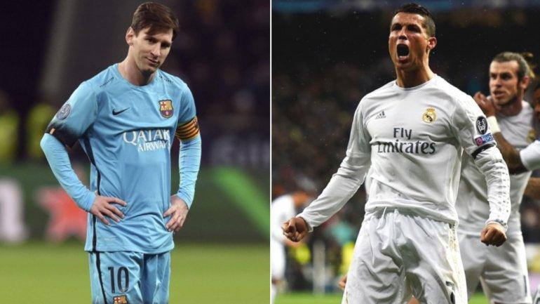 CR7 le sacó 10 a Messi en la lista de máximos goleadores
