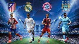 Los cuatro semifinalistas de la Champions League