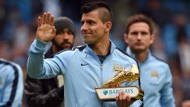 En la temporada 2014/15 ganó su única Bota de Oro en Inglaterra