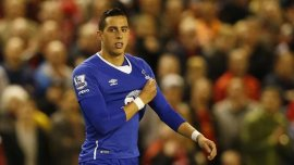 Ramiro Funes Mori le hizo gestos a la gente del Liverpool