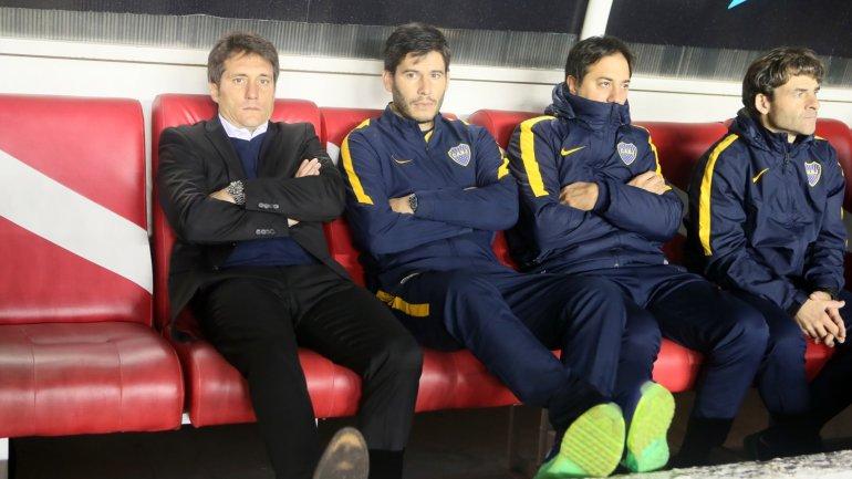 Guillermo Barros Schelotto sufrió la quinta derrota de Boca en el campeonato local