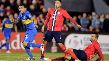 Carlos Tevez, la carta de fútbol y gol de Boca ante Cerro Porteño