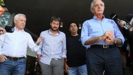 Blanco, Lammens, Angelici y DOnofrio, principales impulsores de la nueva Liga Profesional