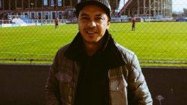 Marcelo Gallardo, presente en la Ciudad Deportiva de San Lorenzo