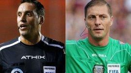 Fernando Rapallini y Néstor Pitana, los jueces para los partidos más calientes de la Fecha 15