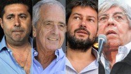 Angelici, DOnofrio, Lammens y Moyano, directivos de peso en la AFA