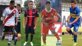 Diente López (River), Tomás Conechy (San Lorenzo), Gastón Del Castillo (Independiente) y Alexis Messidoro (Boca), los nombres más conocidos