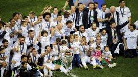 Real Madrid, el más campeón en la Champions League