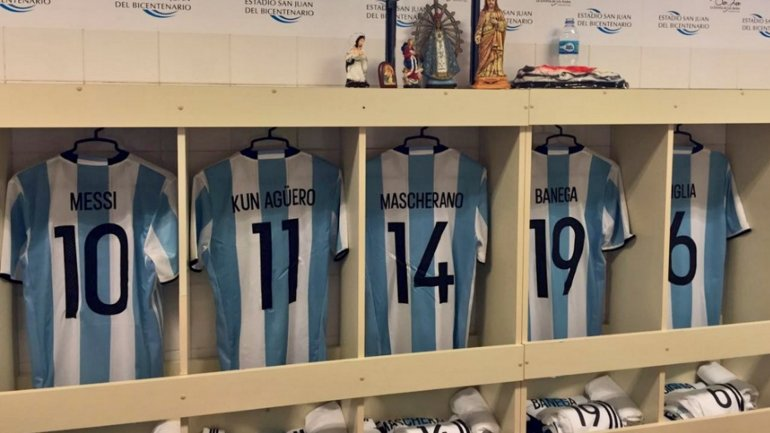 Dorsales de la Copa América