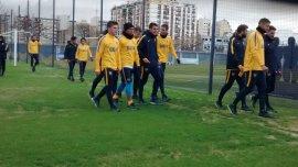 Carlos Tevez, presente en la primera práctica de Boca en el semestre