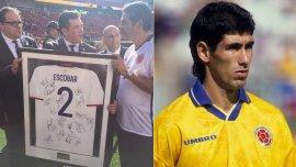 El homenaje a Andrés Escobar, al conmemorarse 22 años de su asesinato en el Mundial de Estados Unidos 1994